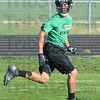 Tribune-Star/Jim Avelis<br /> Invisible man: West Vigo's Tyler Gustafson can go unnoticed while playing defense until he's in the middle of the opponent's backfield.