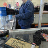 Tribune-Star/Jim Avelis<br /> Minding he store: Janet Davenport is the manager of the Light House Mission store at 940 Poplar, The Northside used goods outlet has temporarily set up shop there while repairs are being made to it's Lafayette Avenue site.