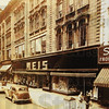 Tribune-Star photo courtesy Lu Meis<br /> Before: This is a photo from before the facade was placed on the front of the Meis Building in the 600 block of Wabash Avenue.