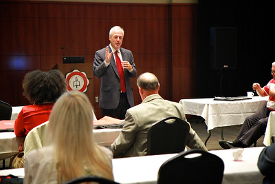 HR compliance workshop and training/information session hosted by the Godbold School of Business; Fall 2012