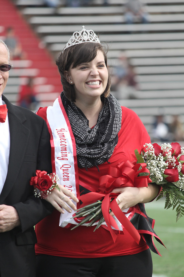 2012-2013 Homecoming Queen, Sara Phillips