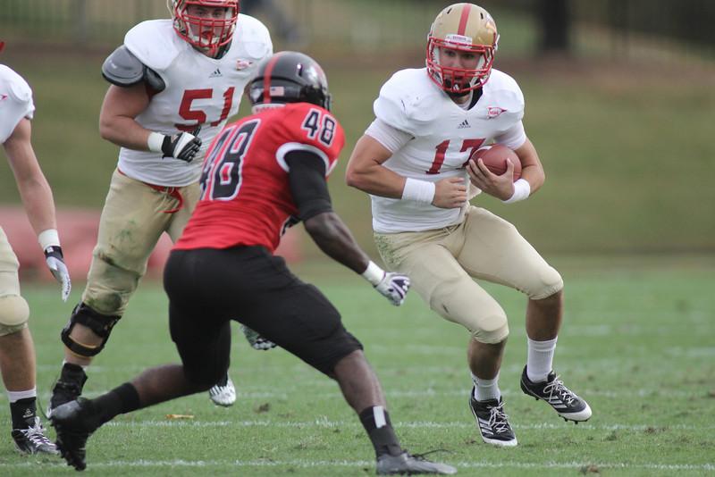 The Gardner-Webb Runnin' Bulldogs deafeted VMI, on homecoming day, 38-7 at Spangler Stadium, Saturday, October 27, 2012