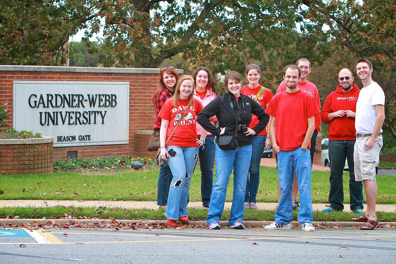 Gardner-Webb University Homecoming 2012. October 27