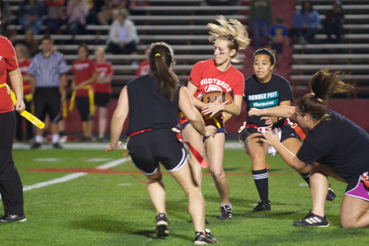 North Side women finish victorious over South Side during Homecoming week at Gardner-Webb.