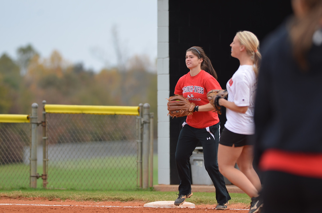 Softball students vs. Alumni Game