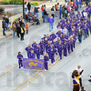 Tribune-Star/Jim Avelis<br /> Striking it up: The Otter Creek band participated in the Indiana State University homecoming parade this year.