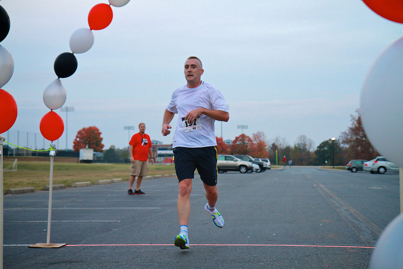 Annual Pound the Pavement 5k run on the campus of Gardner-Webb University.