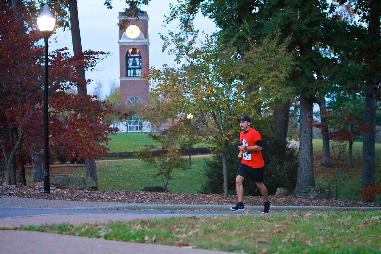 Annual Pound the Pavement 5k run on the campus of Gardner-Webb University.
