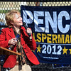 Tribune-Star/Jim Avelis<br /> Vote: Sue Ellspermann, Republican candidate for Secretary of State for Indiana talks about the upcoming election. She was part of a contingent on the Indiana State University campus urging people to participate in early votin