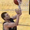 Tribune-Star/Jim Avelis<br /> Up and in: Jon Gerker returns to the Rose-Hulman line up again this year.