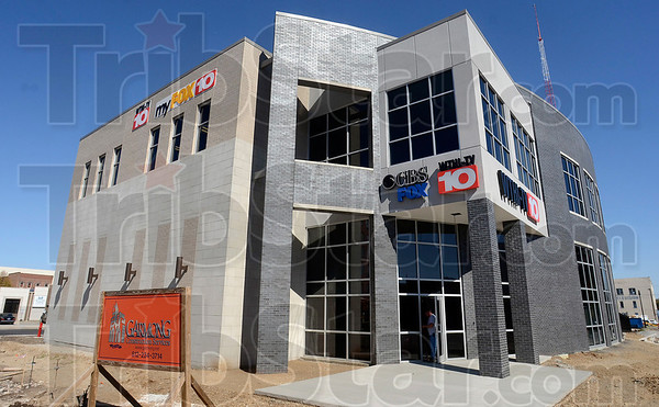 Tribune-Star/Joseph C. Garza<br /> New digs for 10: WTHI-TV will begin a new era when the station begins broadcasting out of its new building at Eighth and Ohio Streets Oct. 20.
