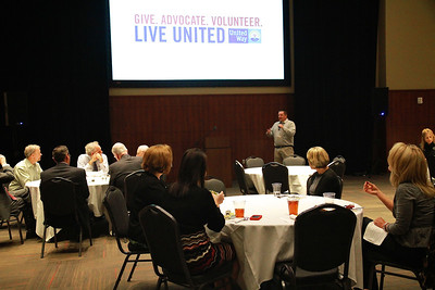 United Way campaign kickoff lunchon; Nov 1, 2012.