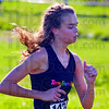 Tribune-Star/Jim Avelis<br /> Fastest: Chanli Mundy won the girl's cross country sectional in a time of 19:13.6.