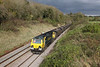 30 October 2012 :: 70011 in a lucky patch of sun at Wickwar working 4V06, Rugelely to Stoke Gifford