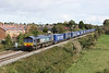 30 October 2012 :: 66304 at Portskewett with 4V38, the Tesco Express from Daventry to Wentloog