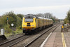 26 October 2012 :: NMT from Paddington to Derby with 43013 and 43014 is seen passing Cholsey station