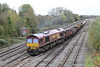 31 October 2012 :: 66150 at Hinksey working 6M50 from Westbury to Bescot