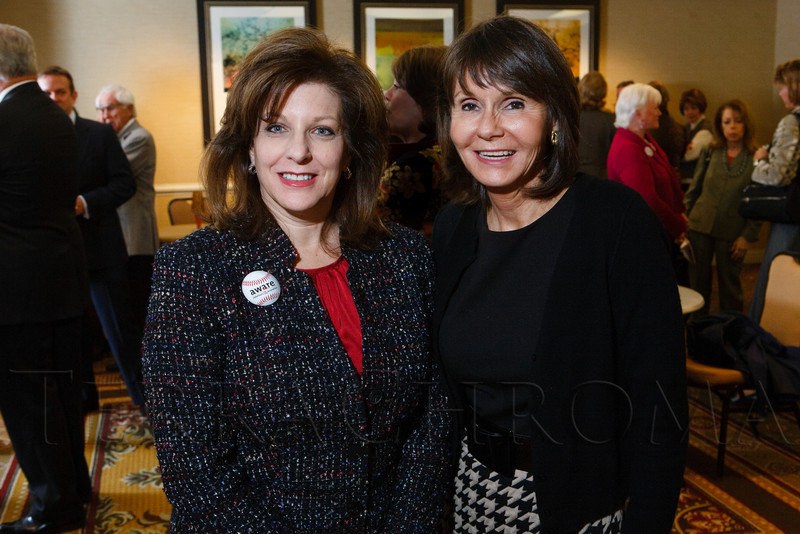 xxx and Maureen Brooks.  The 13th annual Memories Lost & Found Luncheon, hosted by AWARE and benefiting the Alzheimer's Association Colorado Chapter, at the Denver Marriott City Center in Denver, Colorado, on Wednesday, Oct. 17, 2012.<br /> Photo Steve Peterson
