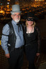 "Dale (as a riverboat dealer) and Clare (as Zora, works with VOA fundraising and development team) Compton.  The 19th annual Western Fantasy gala, themed ""Stars Over the Rockies, Legends of the West,"" a benefit for the Colorado branch of Volunteers of America, at the National Western Events Center in Denver, Colorado, on Saturday, Oct. 20, 2012.<br /> Photo Steve Peterson"