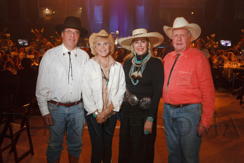 "The 19th annual Western Fantasy gala, themed ""Stars Over the Rockies, Legends of the West,"" a benefit for the Colorado branch of Volunteers of America, at the National Western Events Center in Denver, Colorado, on Saturday, Oct. 20, 2012.<br /> Photo Steve Peterson"