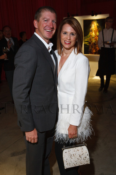 Scott and Heidi Mellin.  The Museum of Contemporary Art Denver 2012 Luminocity Gala, benefiting MCA, at 3600 Wynkoop Street in Denver, Colorado, on Thursday, Oct. 25, 2012.<br /> Photo Steve Peterson