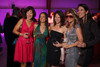 Annick Nadeau (BCBG), Neelu Shukla, Sarah Bridich (Nicole Miller), Ansley Kreitler (Buffalo Exchange), and Jenna Stapleton (See by Chloe).  The Museum of Contemporary Art Denver 2012 Luminocity Gala, benefiting MCA, at 3600 Wynkoop Street in Denver, Colorado, on Thursday, Oct. 25, 2012.<br /> Photo Steve Peterson