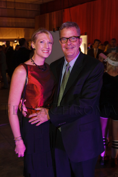 Kristin and John Todd.  The Museum of Contemporary Art Denver 2012 Luminocity Gala, benefiting MCA, at 3600 Wynkoop Street in Denver, Colorado, on Thursday, Oct. 25, 2012.<br /> Photo Steve Peterson