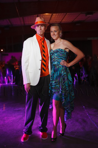 Tripper Atherton and Maddie Glantz.  The Museum of Contemporary Art Denver 2012 Luminocity Gala, benefiting MCA, at 3600 Wynkoop Street in Denver, Colorado, on Thursday, Oct. 25, 2012.<br /> Photo Steve Peterson