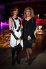 Nona Yakes (Helmut Lang) and Bonnie Zueger (Rundholz).  The Museum of Contemporary Art Denver 2012 Luminocity Gala, benefiting MCA, at 3600 Wynkoop Street in Denver, Colorado, on Thursday, Oct. 25, 2012.<br /> Photo Steve Peterson