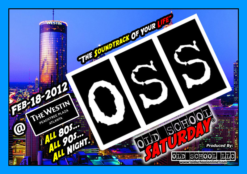 "Feb-18-2012 at The Westin Peachtree Plaza ::: info and tickets--->  <a href=""http://www.oldschoolsaturday.com"">http://www.oldschoolsaturday.com</a>"