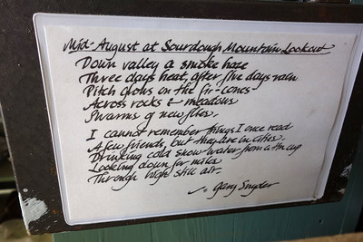 Gary Snyder's most famous poem about Sourdough.