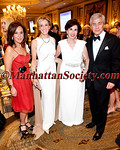"NEW YORK - MAY 16:  Rosanna Scotto, Karen Burke Goulandris, M.D., Ph.D., Donna Stanton, Robert Zimmerman attend Parkinson's Disease Foundation: ""Bal du Printemps"" Gala on Wednesday, May 16, 2012 at The Pierre Hotel, 2 East 61st Street at Fifth Avenue, New York City, NY (Photos by Christopher London ©2012 ManhattanSociety.com)"