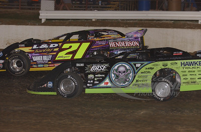 Scott Bloomquist and Billy Moyer