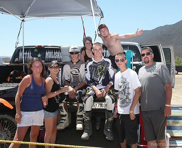 Pala Raceway SD race day 06-24-2012 You got to ride here at Pala