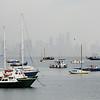 Panama City - Fishing boats in the Bay of Panama