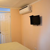 Panama City apartment - Air conditioner and TV in the bedroom