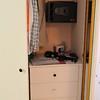 Panama City apartment - closet includes a medium-sized wall safe