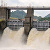 Panama Canal - side dam by Miraflores
