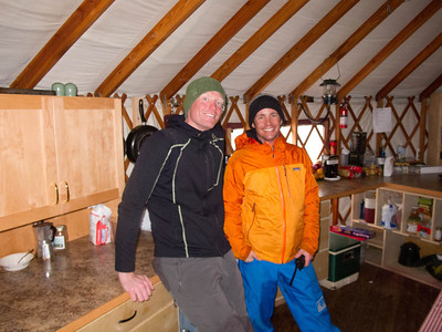Our excellent guides, Einar and Jeff.