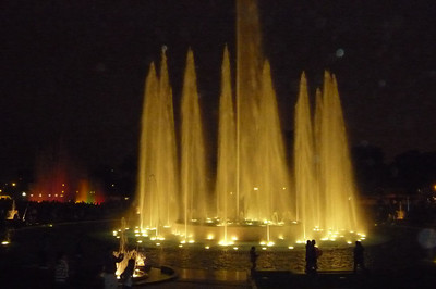 I've seen one other Fountain Park - in Barcelona. It's beautiful apparently (not working during my visit!), but has only one fountain. Lima's park has 16!!! It must surely be the biggest and best in the world.