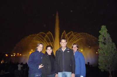 Then they took me to Lima's incredible Fountain Park by night.