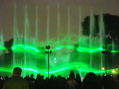 Best of all was a nightly laser light show on the main fountain.