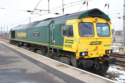 66592 at 1323 from the North then back again on a Route Learner