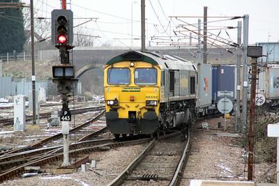66532 1421-4L85 Doncaster-Felixstowe.