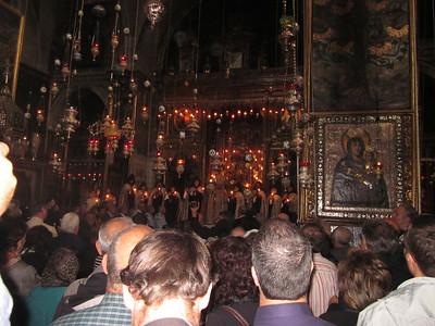 Pilgrimage to Jerusalem April, 2012