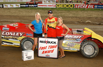 RJ Conley won the Red Buck Fast Time Award