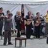 Quito - Sunday morning entertainment in Plaza Grande