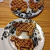 Post Thanksgiving potato waffles