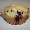Gluten free blueberry muffin.