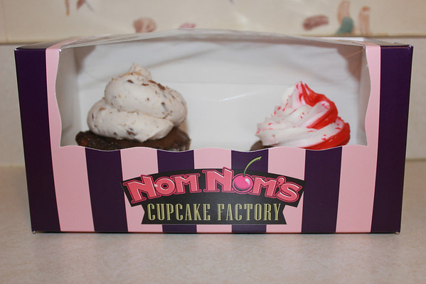 Cupcakes from Valentine's Day 2012.